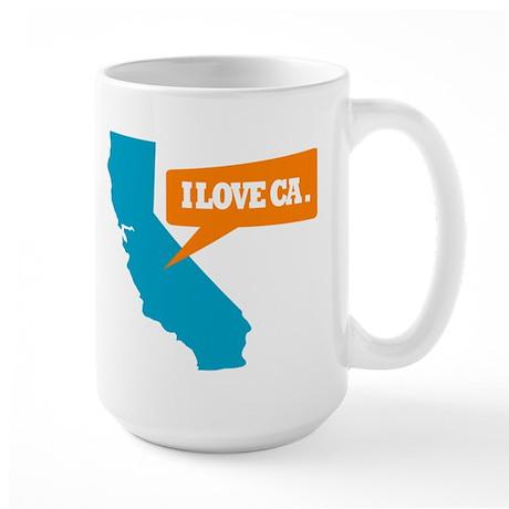 State Quote - California - I Large Mug