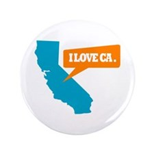 "State Quote - California - I 3.5"" Button"