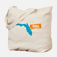 State Quote - Made In Florida Tote Bag
