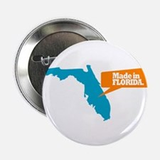 """State Quote - Made In Florida 2.25"""" Button"""