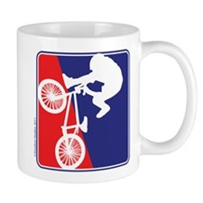 BMX Rider in Red White and BLUE Mug