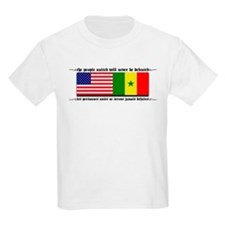 USA - Senegal Kids T-Shirt