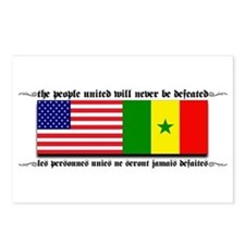 USA - Senegal Postcards (Package of 8)