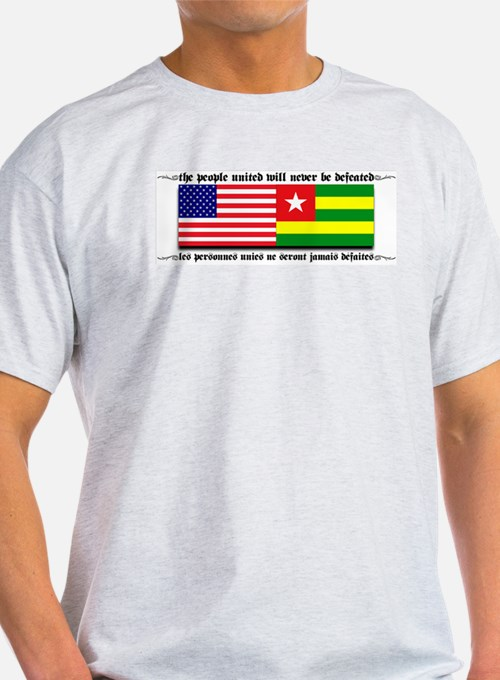 USA - Togo Ash Grey T-Shirt