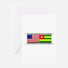 USA - Togo Greeting Cards (Pk of 10)