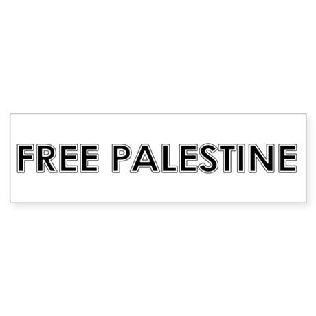 Free Palestine Sticker (Bumper 10 pk)