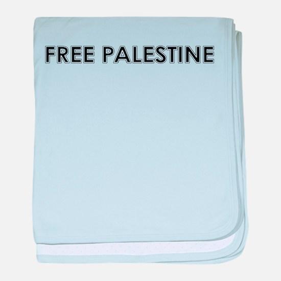 Free Palestine baby blanket