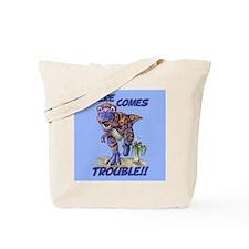Cute Dino Tote Bag