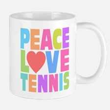 Peace Love Tennis Mug