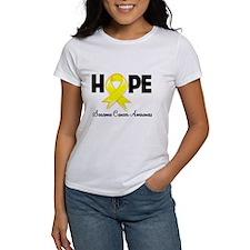 Hope Sarcoma Ribbon Tee