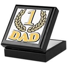 #1 Champion Dad Best Dad Keepsake Box