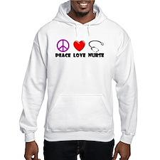 Peace Love Nurse Hoodie