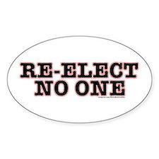 Re-ElectNoOne Decal