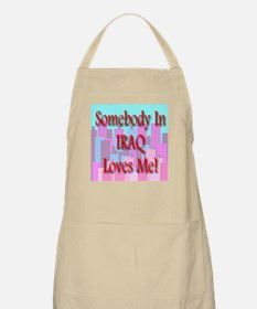 Somebody In Iraq Loves Me! BBQ Apron