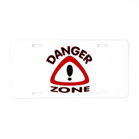 BE CAREFUL Aluminum License Plate