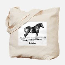 Belgian Draft Horse Tote Bag