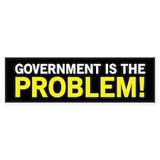The Problem - Herman Cain Bumper Bumper Sticker