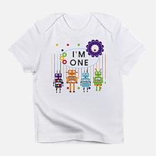 Robot First Birthday Infant T-Shirt