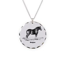 Belgian Horse Necklace