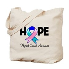 Hope Thyroid Cancer Tote Bag