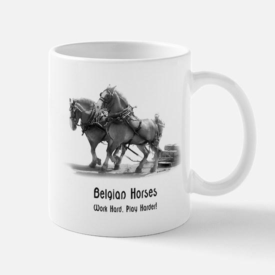 Belgian Draft Horse Mug