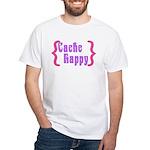 Cache Happy White T-Shirt