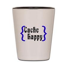 Cache Happy Shot Glass