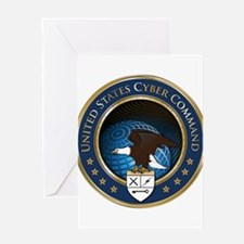 United States Cyber Command Greeting Card