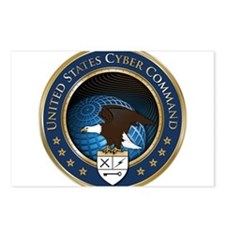 United States Cyber Command Postcards (Package of