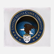 United States Cyber Command Throw Blanket