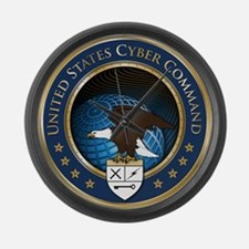 United States Cyber Command Large Wall Clock