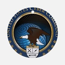 United States Cyber Command Ornament (Round)