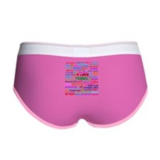 Tennis Terms Women's Boy Brief