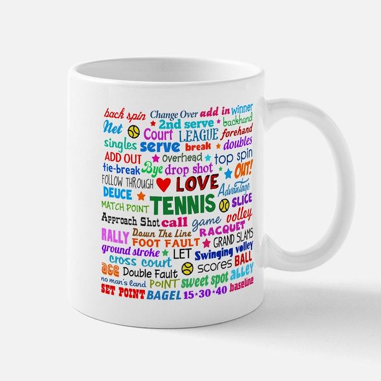 Tennis Terms Mug