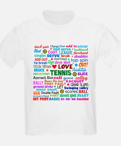 Tennis Terms T-Shirt