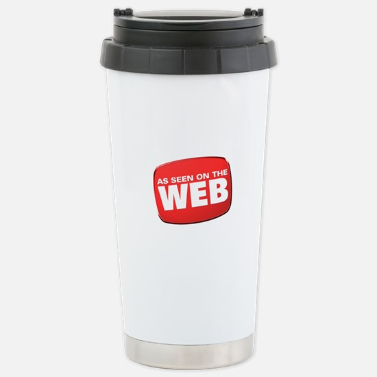 As Seen on the Web Stainless Steel Travel Mug