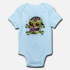 Zombie Sugar Skull Infant Bodysuit