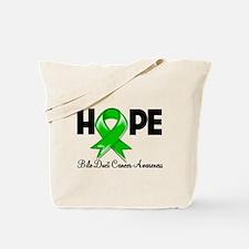 Hope Bile Duct Cancer Tote Bag