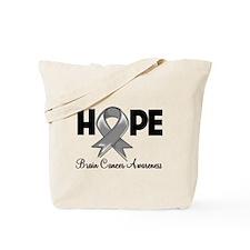 Hope Brain Cancer Tote Bag