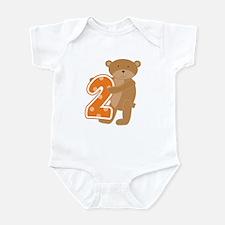 Bear 2nd Birthday Infant Bodysuit