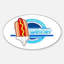 Weiner Underwear - Tighty Whiteys Decal