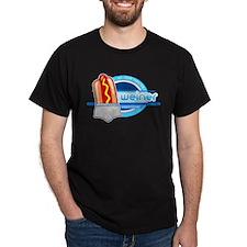 Weiner Underwear - Grey Briefs T-Shirt