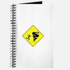 Cute Tornado chaser Journal