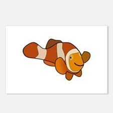 Clownfish Symbol Postcards (Package of 8)