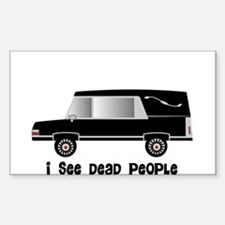 Funeral Director/Mortician Sticker (Rectangle)