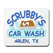 Scrubbys Car Wash Mousepad