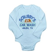 Scrubbys Car Wash Long Sleeve Infant Bodysuit