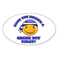 Have you hugged a Greek today? Decal