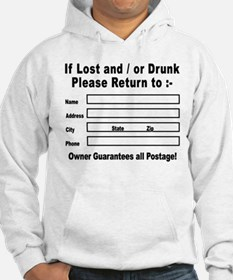 If Lost and / or Drunk Hoodie