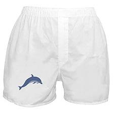 Bottlenose Dolphin Symbol Boxer Shorts